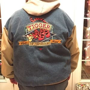70 Off Disney Jackets Amp Blazers Vintage Disney Tigger