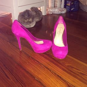 Jessica Simpson pumps - magenta