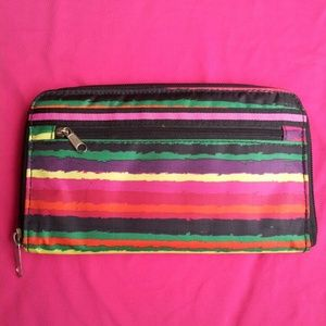 NWOT Colorful Striped Wallet
