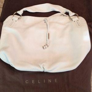 91% off Celine Handbags - Authentic Celine terra cotta leather ...
