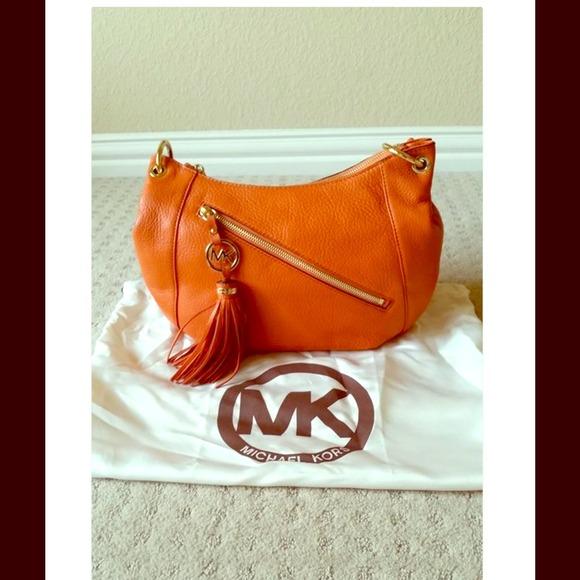 1cf059ce92c8 42% off Michael Kors Handbags - MK Charm-Tassel Convertible Shoulder Bag  Authentic from Jaa's closet on Poshmark