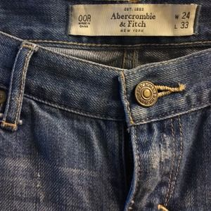 Abercrombie & Fitch Denim - A&F Destroyed Skinny Jeans