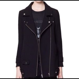 Zara Combination Zip Jacket