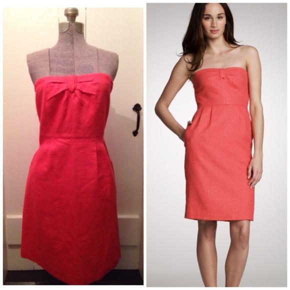 85% off J. Crew Dresses & Skirts - 🎈Sale-J. Crew Metallic Linen ...
