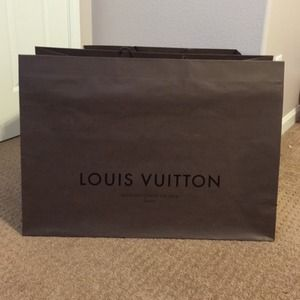 XXL (giant) Louis Vuitton shopping bag