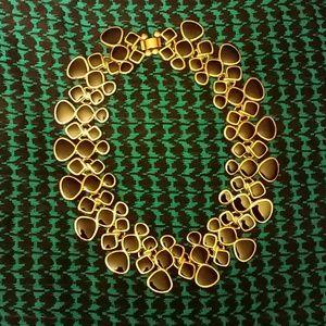 Black & Gold Choker Necklace