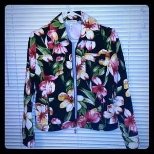 St. John Sport Jackets & Blazers - Bright Colorful Floral Jacket