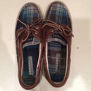 Sperry Top-Sider flannel boat shoes