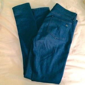 rag & bone Denim - Rag & Bone High Rise Skinny Jean