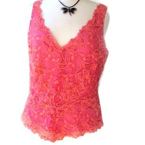 Cache Tops - 🌹 Host Pick NWT Cache Top Size Large Lace Lined