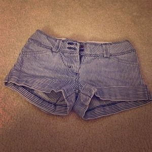 Forever 21 Pants - Striped Shorts
