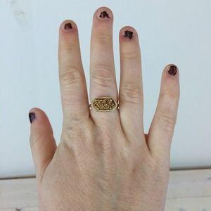 Kendra Scott Jewelry - Kendra Scott Ella Ring in Gold Drusy