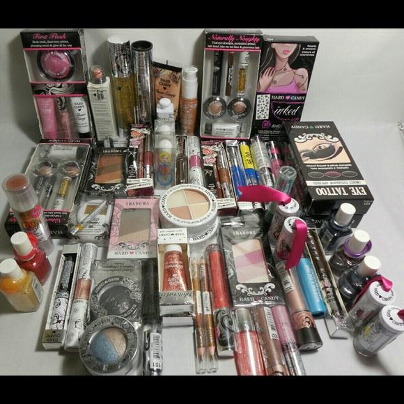 Hard Candy Makeup New 50 Pieces Cosmetics Lot Poshmark