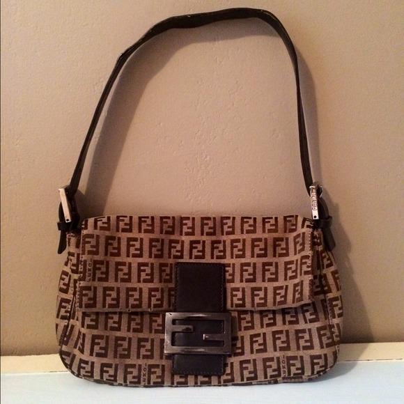7c19706690fe FENDI Handbags - 💯 authentic classic Fendi monogram baguette 👜