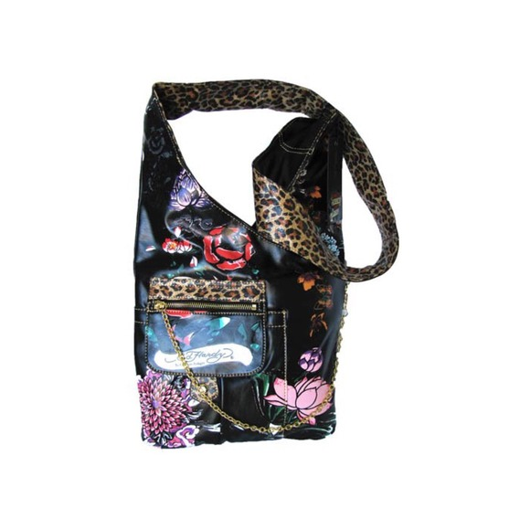 18b34adb6c8 Ed Hardy Handbags - Authentic ED HARDY Cross-Body Bag