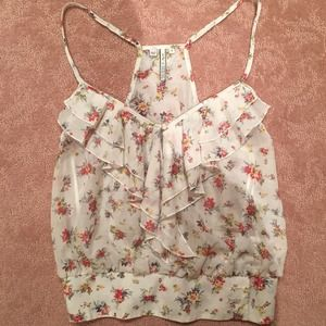 Guess Los Angeles floral top