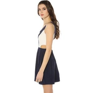 BB Dakota Dress with Cutouts