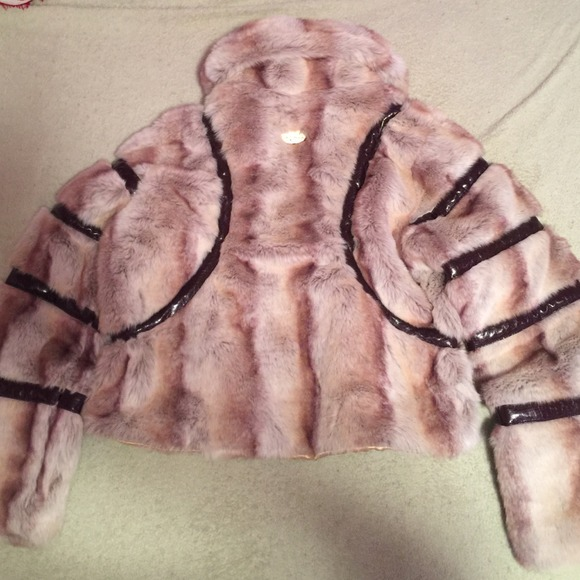 57 Off Baby Phat Outerwear Brown Fur Coat From Ashley S