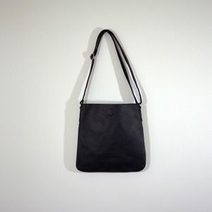 Vintage black shoulder bag