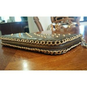 NWOT Gold Studded Wallet
