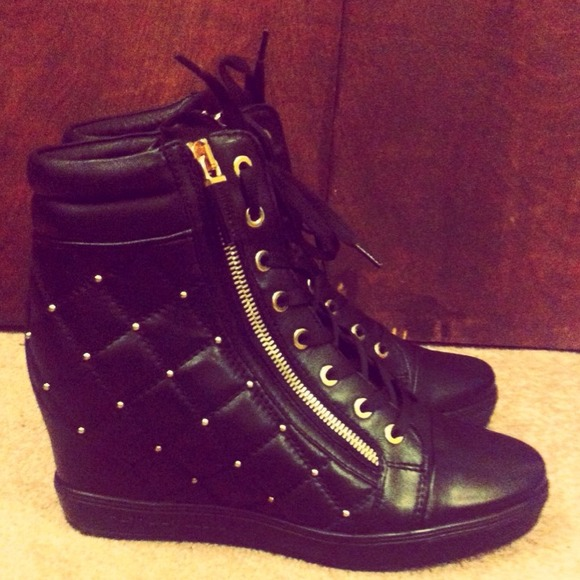 BALDININI Platform sneakers 2SE12Qc