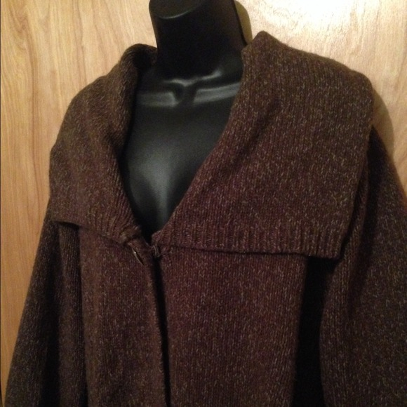Carroll Reed - Comfy Cozy Plus Size 3X Sweater Coat from