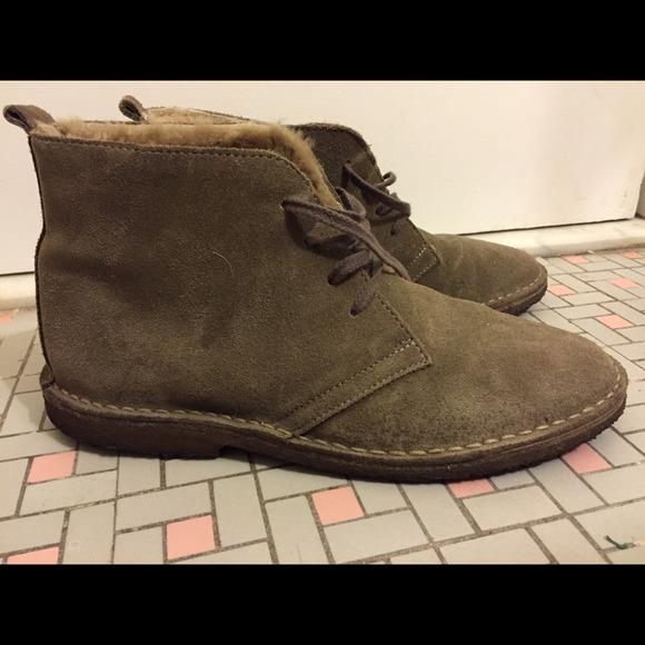 Jcrew Macalister Desert Boots Shearling