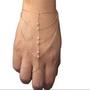 Accessories - CZ slave wristlet