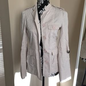 Marc by Marc Jacob blush utility style jacket SZ 2