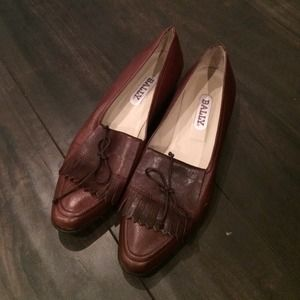 Bally vintage loafers
