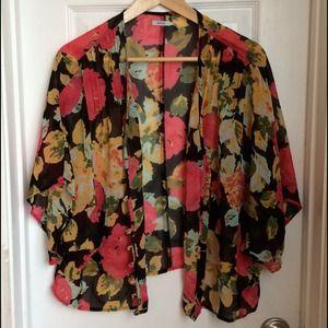 Kimchi Blue Kimono-Style Top