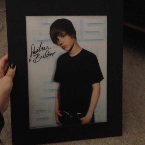 Justin Bieber Framed Poster | Poshmark