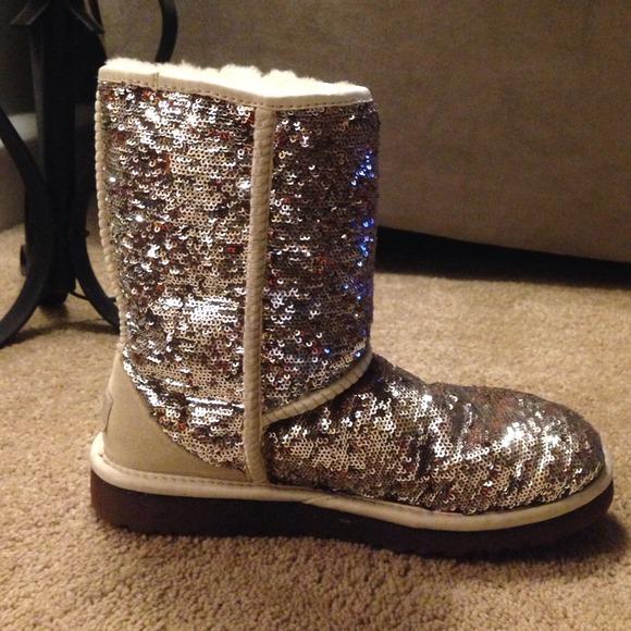 Ugg Boots Short Sparkle