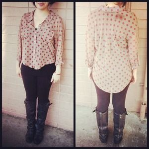 Free People Tops - Free people sheer button up