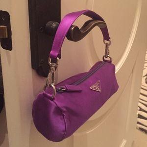 5d50104c251a Prada Bags | Satin Purple Evening Bag | Poshmark