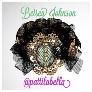 Betsey Johnson Prom Party Multi-Stone Bracelet NWT