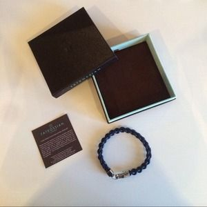 Tateossian Jewelry - NWT- Tateossian Leather Bracelet