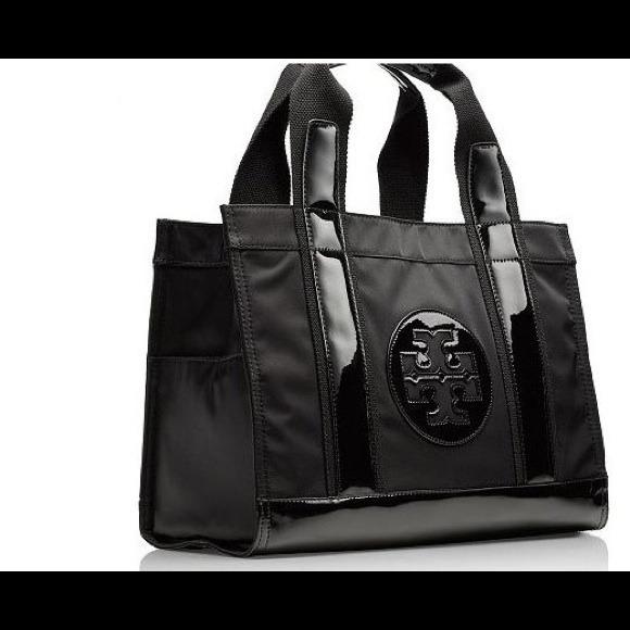 49% off Tory Burch Handbags - SALE Tory Burch mini Tory black tote ...