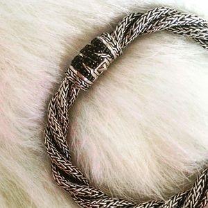John Hardy Jewelry - John Hardy Palu Lava Sterling Silver Twist
