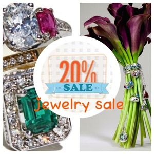 20% off on all jewelry items.  Just comment me.
