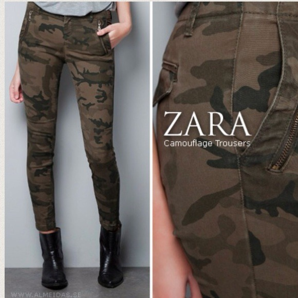Cool I Recently Got These Camo Pants From Zara And I Had No Idea I Was Going To Wear Them This Much Im Not Kidding Either I Have Worn Them At Least 3 Times In The Past Two Weeks! I Know When Most People Think Of Camouflage They Think Of The