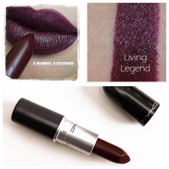 Connu MAC Cosmetics Makeup Mac Lipstick Living Legend | Poshmark WO58