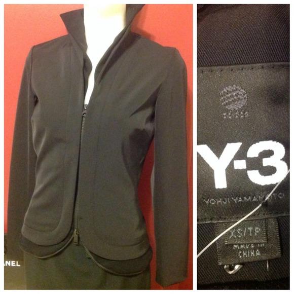 Y 3 Jackets Coats Y3 Yohji Yamamoto Adidas Jacket Poshmark