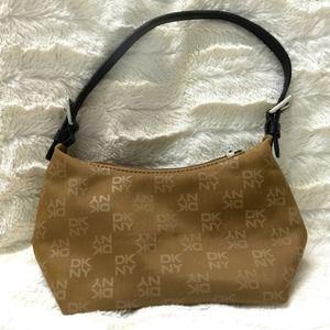 DKNY small tan purse