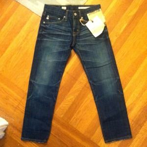 AG Adriano Goldschmied Denim - Adriano Goldschmied Ex Boyfriend Crop Denim