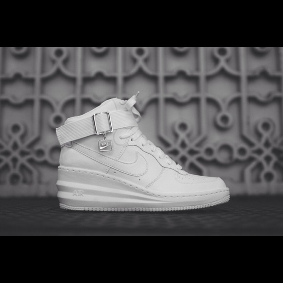 Nike Air Force 1 High John Geiger Misplaced Checks White