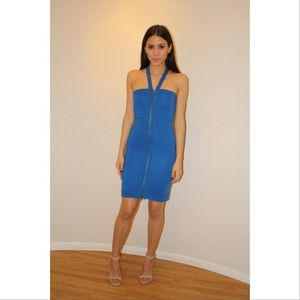 French connection size XS bandage dress w zipper