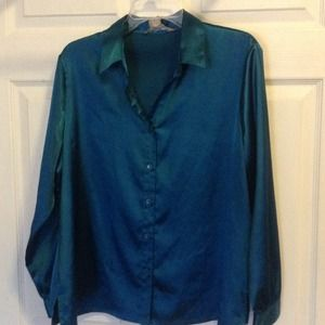 SOLD SOLD turquoise blue shirt