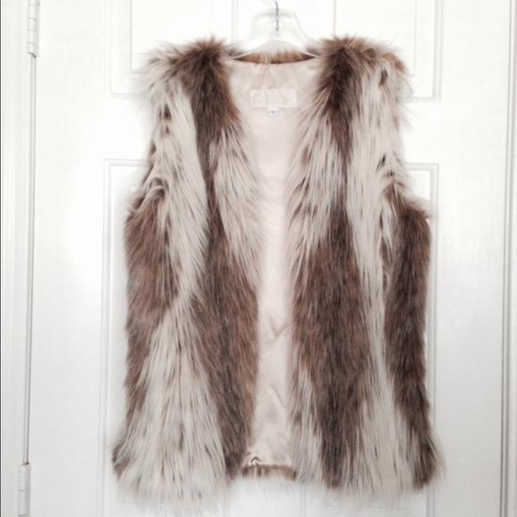 Fabulous Furs Faux Fur Vest