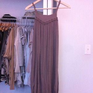 Free people Calf length dress